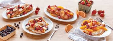 ihop goes with french toast and crepes topped with fresh fruit this summer with the arrival of the new seasonal fresh market menu