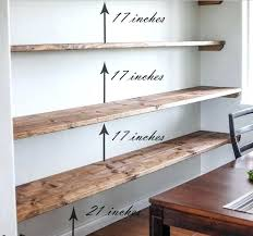 narrow wall shelf put floating shelves on a narrow wall between two doors unique storage ideas to try for a addict and