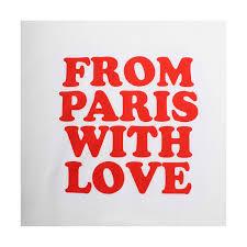 LOGO FROM PARIS WITH LOVE | AMI | PL-Line - Luxury Designer Fashion
