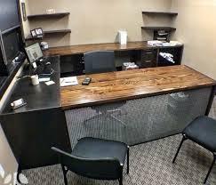 wood desks for home office. Luxury Design Reclaimed Wood Office Desk Stylish Ideas Home . Desks For