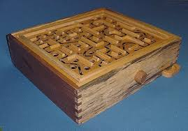 Wooden Maze Games Large All Wood 10000 In 100 Triple Labyrinth maze game Neighborhood 74