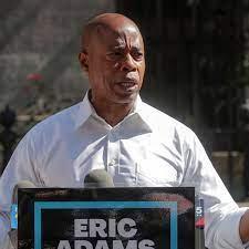 Ex-police captain Eric Adams wins ...