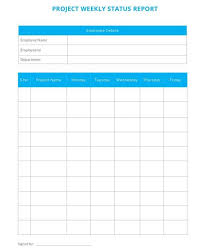 Weekly Progress Report Templates Free 14 Sample Project Status Reports In Google Docs Ms
