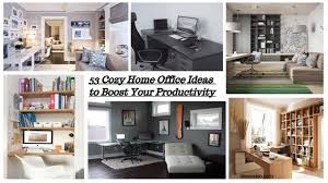 Cozy home office ideas Small If There Is Question is It Possible To Have An Office At Home The Answer Will Be Yes Use The Rest Space At Home As An Office Is An Excellent Idea Decoraisocom 53 Cozy Home Office Ideas To Boost Your Productivity Decoraisocom