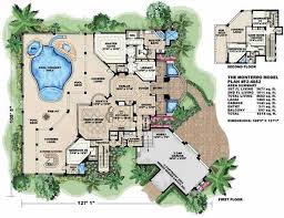 mediterranean house plans. Unique House Floor Plan First Story Of Florida Style 1751051 And Mediterranean House Plans E