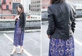 toby heart ginger lace midi dress blanknyc faux leather jacket leopard heels