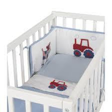 tractor crib bedding designs