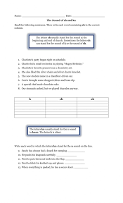 You will find all levels of phonics printable worksheets. The Sound Of Ch And Kn Worksheet