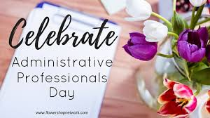 Administative Day Celebrate Administrative Professionals Day