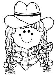 Cowgirl Coloring Pages Mistersofpuertoricoinfo