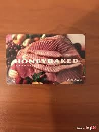 honey baked ham gift card balance photo 1