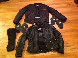 vintage harley davidson motorcycles fxrg leather jacket set women s size l 1 of 1only 1 available