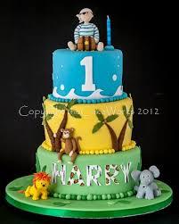 1st Birthday Pirate And Jungle Cake Thecakeworks Wedding Cakes