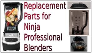 replacement parts for ninja