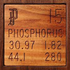 Technical Data for the element Phosphorus in the Periodic Table