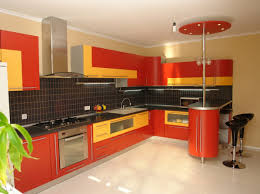 Yellow And Red Kitchen Kitchen White And Blue Combination For Kitchen Wall Cabinet And