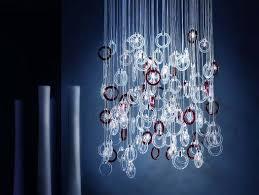 beautiful lighting. italian lighting manufacturer micron illuminazione have introduced the ginger chandelier via contemporist beautiful r