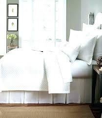 bedding miller home full queen squares seerer texture duvet cover