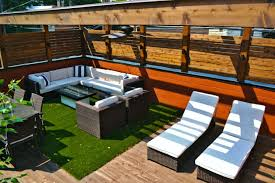 rooftop deck furniture. Exellent Deck This Rooftop Deck Offers Several Options For Seating You Can Cozy Up On  The Sectional Recline Lounge Chairs Or Gather Around Outdoor Dining  And Rooftop Deck Furniture S