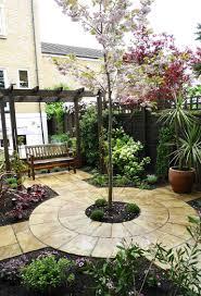 Designer Trees For Small Gardens Quiet Corner Small Yard Landscaping Design Quiet Corner