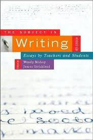 the subject is writing fourth edition essays by  9780867095869 the subject is writing fourth edition essays by teachers and students