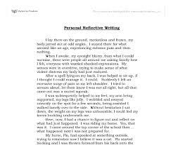 Example Of Personal Reflective Essays Under Fontanacountryinn Com