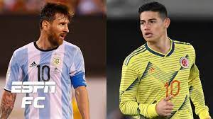 Argentina vs. Colombia headlines the ...