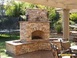 outdoor fireplace located in cool california this 5 wide 8 tall outdoor cool fireplace features a complete ledgestone veneer with surrounding planter