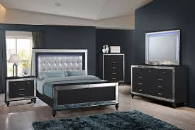 Image Ashley Picture Of Valentino Ii Black Queen Bedroom Set The Furniture Mart Valentino Ii Black Queen Bedroom Set The Furniture Mart