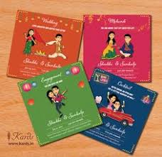 sporg studio provides illustrated wedding card service with utmost Funny Indian Wedding Invitation Cards vibrant and colorful inserts symbolizes the richness and colors that go behind every indian wedding ceremony · indian wedding invitationsfunny funny indian wedding invitation cards for friends