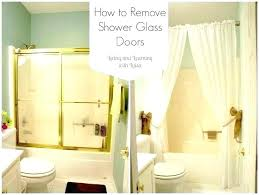 from how to clean glass shower doors with hard water spots best
