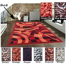 brown area rug 8x10 rug carpet area rug brown red black burdy orange caramel red grey