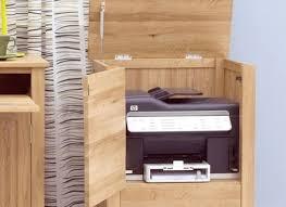 nara solid oak hidden. Perfect Oak Nara Solid Oak Office Computer Desk Furniture Printer Throughout Hidden