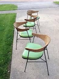 Impressive Mid Century Modern Patio Furniture Salterini Style Tiki Lounge Chairs On Decorating Ideas