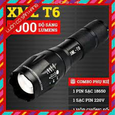 XẢ KHO] Đèn pin siêu sáng bóng led xml t6 police bin mini cầm tay chống  nước tự vệ chuyên dụng -KSHN giá cạnh tranh