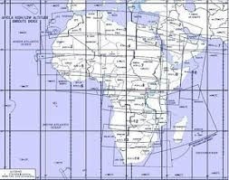 Africa Enroute High Low Altitude Chart Ahl 1 2