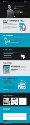 best ideas about cv website cv web site cv webmarketing guillaume lorain site cv creacuteatif cv graphique marketing resume website e