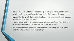 Bible Series Iv Adam Eve Self Consciousness Evil Death