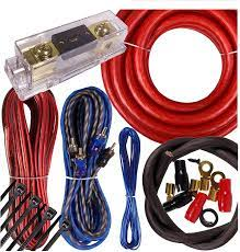 Amazon.com: Complete 4000W Gravity 0 Gauge Amplifier Installation Wiring  Kit Amp Pk2 0 Ga Red - for Installer and DIY Hobbyist - Perfect for  Car/Truck/Motorcycle/Rv/ATV