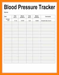 Bp Log Sheet Entire Likeness Blood Pressure Record 13 Recording Form
