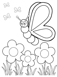 free colouring sheets for kids. Delighful Free Butterfly Coloring Pages For Your Toddlers Inside Free Colouring Sheets Kids T