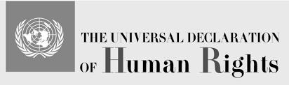Risultati immagini per carta dei diritti umani articolo 1