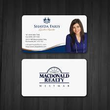 Realtor Business Card Cards Design Real Estate Holder