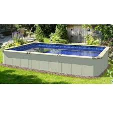 rectangle above ground swimming pool. Little Space Above Ground Rectangular Swimming Pools For Sale Rectangle Pool O