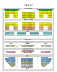 Wellmont Theater Seating Chart Updated Reserved Chart The Wellmont Theater