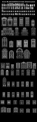 best door design ideas cad door drawings these cad blocks and