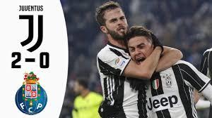 Juventus 2-0 FC Porto UCL 2017 - last 16 1st leg / Highlights - YouTube