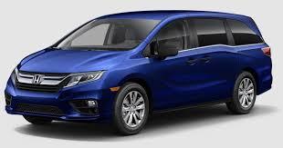 2018 Honda Odyssey Obsidian Blue Pearl  Allan Nott