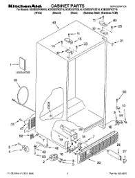 parts for kitchenaid ksrd25fkwh16 refrigerator appliancepartspros com 3-Way Switch Wiring Diagram at Search Ksre25fhbt00 Wiring Diagram