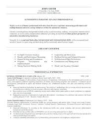 Financial Resume Examples Amazing Financial Manager Resume Sample Resume Ideas Pro